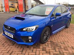 subaru impreza wrx 2016 used 2016 subaru impreza sti type uk for sale in workington