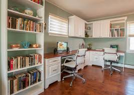 White Bookcase With Cabinet by Wondrous Corner White Home Office Design With Single White Desk