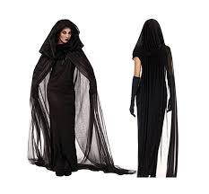amazon com menglihua halloween ghost wizard witchcraft cape cloak