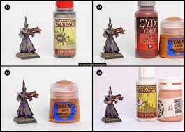 Vallejo Game Color Wash - tutorial how to paint dark elves aelf exiles tale of painters