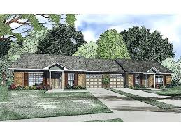 multi family house plans one story duplex plan 025m 0083 at