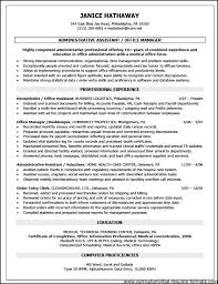 Sample Resume Office Manager by Objective Front Office Executive Resume Free Samples Examples