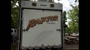 2009 keystone raptor 3712 toyhauler youtube