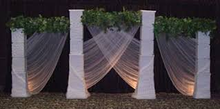 wedding backdrop ideas with columns backdrop idea s wedding backdrops