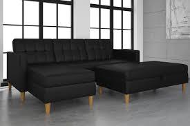 interior design julia futon chaise lounger black walmart within