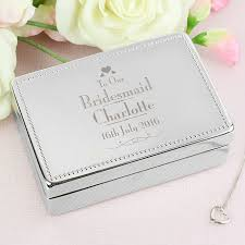 bridesmaid jewellery decorative bridesmaid jewellery box