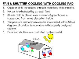greenhouse thermostat fan control greenhouse production and maintenance ppt download