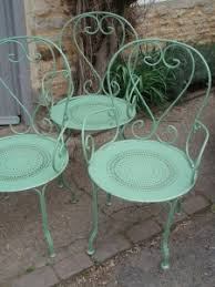 green metal outdoor table french metal garden chairs gilli hanna decorative antiques