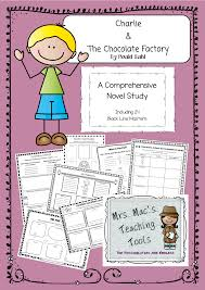 subjects english charlie u0026 the chocolate factory by roald