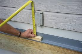 How To Build Wood Steps On A Deck Today U0027s Homeowner by Decks Com How To Build A Deck Attaching The Ledger Board