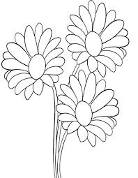 fiori disegni di fiori da stare e colorare