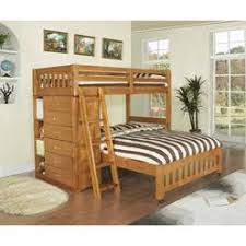 Amazon Com Bunk Bed All In 1 Loft With Trundle Desk Chest Closet by Twin Storage Loft Bed With Desk