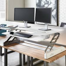desk stand up desk converter with imposing titan fitness