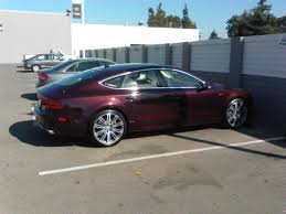 red velvet car shiraz red a7 is here audiworld forums