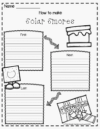 1st grade writing paper solar smores first grade centers and more the day after the project i had the students write about the steps to make solar smores click on the picture to get the freebie
