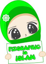 freebies doodle muslimah fizgraphic dot