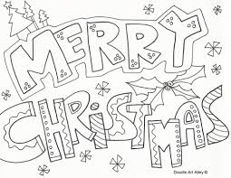 merry christmas coloring eson