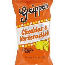 ripple chips grippo s ripple cheddar horseradish potato chips 3 5 oz from