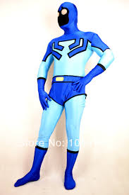 Ted Halloween Costume Aliexpress Buy Blue Beetle Costume Ted Kord Blue Beetle