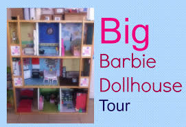 Barbie Home Decor by Big Barbie Dollhouse Tour Youtube