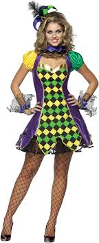 mardi gras jester costume mardi gras jester woman costume buycostumes