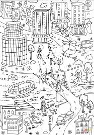 lipstick building coloring page free printable coloring pages