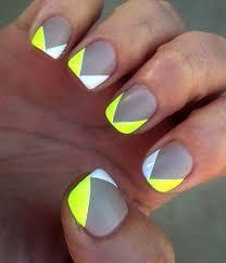 35 gray nail art designs gray lights and neon nails