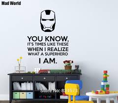 Comic Book Room Decor Wall Sticker Picture More Detailed Picture About Mad World
