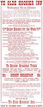 vintage 1956 ye olde hoosier inn stockton california 1 00