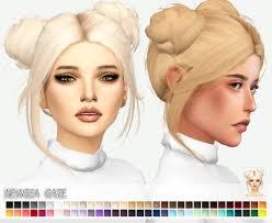 sims 3 custom content hair ts4 alpha cc tumblr