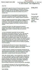finance analyst cover letter example forums learnist org