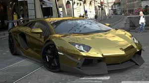 golden cars golden lamborghini car by acersense on deviantart