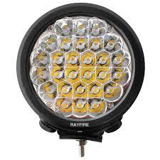 round led driving lights rayfire 7 140w 6000k round led driving light black ring rayfire