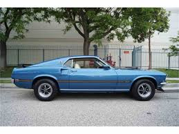Mustang Mach One 1969 Ford Mustang Mach 1 For Sale Classiccars Com Cc 986643