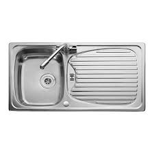 leisure kitchen sink spares leisure euroline 1 0 bowl kitchen sink reversible stainless