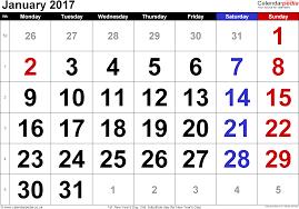 calendar january 2017 uk bank holidays excel pdf word templates
