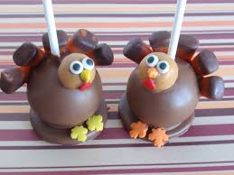 tom turkey cake pops pictures of thanksgiving desserts for