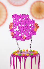 Halloween Cake Supplies Gimme Something Good To Eat Candy Cake Topper U0026 Introducing Fresh