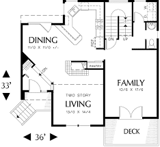 multi level floor plans multi level sloping lot plan 69029am architectural designs