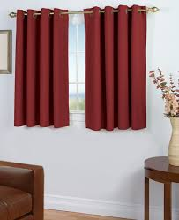 Blackout Kitchen Curtains 45 Inch Curtains Thecurtainshop
