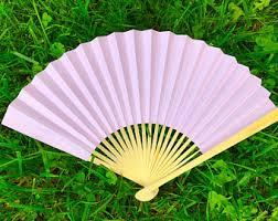 paper fans paper fan etsy