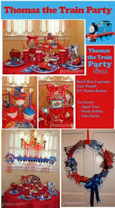 printable diy thomas the train party centerpiece personalized