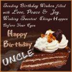 birthday card for uncle best 25 happy birthday uncle ideas only on