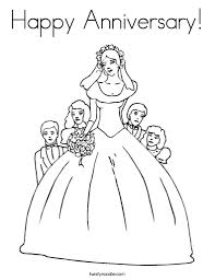 the most brilliant happy anniversary coloring pages with regard to