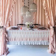 Designer Window Curtains Bella Notte Linens Linen Whisper Ruffled Curtain Luxury