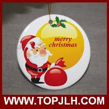wholesale personalised ceramic balls christmas ornaments buy