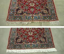 Persian Rugs Nz Oriental Rug Repair Guide Before U0026 After