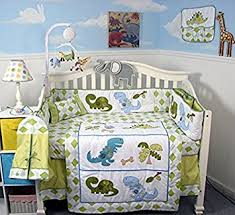 Complete Crib Bedding Sets Soho Dinosaur Story Baby Crib Nursery Complete Set