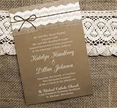 Wedding Invitations Kerry Lace And Burlap Wedding Invitations Reduxsquad Com