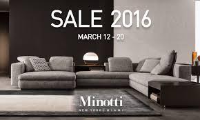 sofa minotti minotti quickship minotti sale 2016